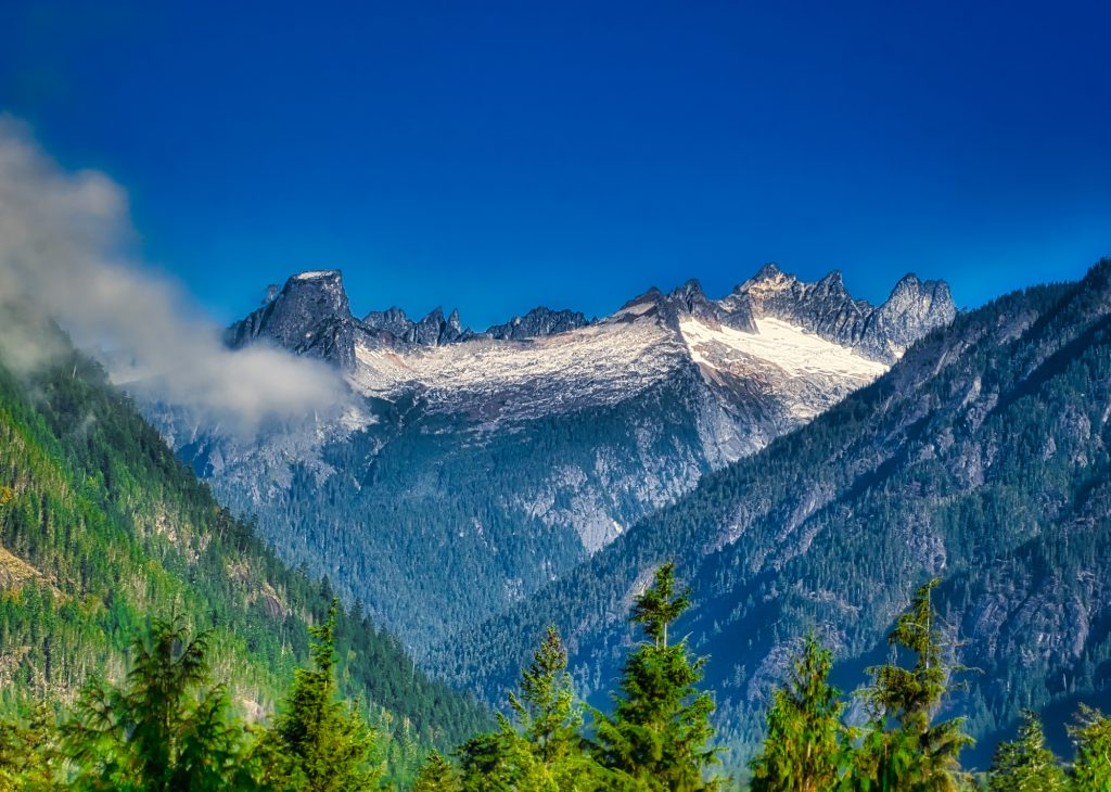 scenic images, picket range north cascades
